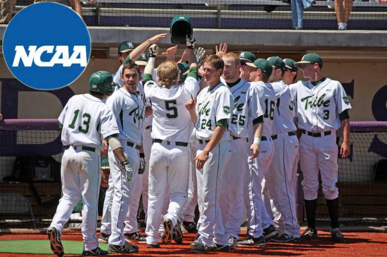 NCAA Baseball Tournament 2013 via Tribe Athletics
