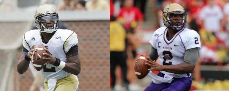 JMU QB Vad Lee: first year with the Dukes after transferring from Georgia Tech