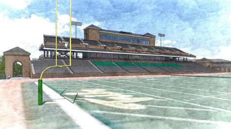 Zable Stadium Renovation Update! (1/4)