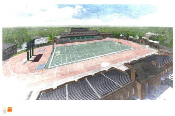 Zable Stadium Renovation Update! (3/4)