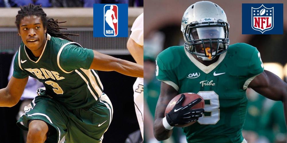 Marcus Thornton and Tre McBride Update: NBA & NFL