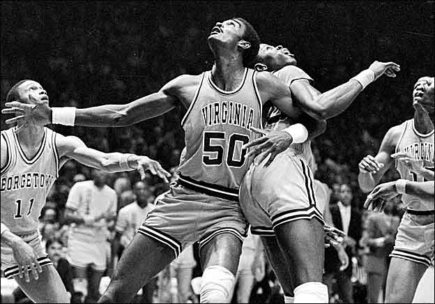Weidner played against top notch competition while at W&M, including UVA all-time great Ralph Sampson.