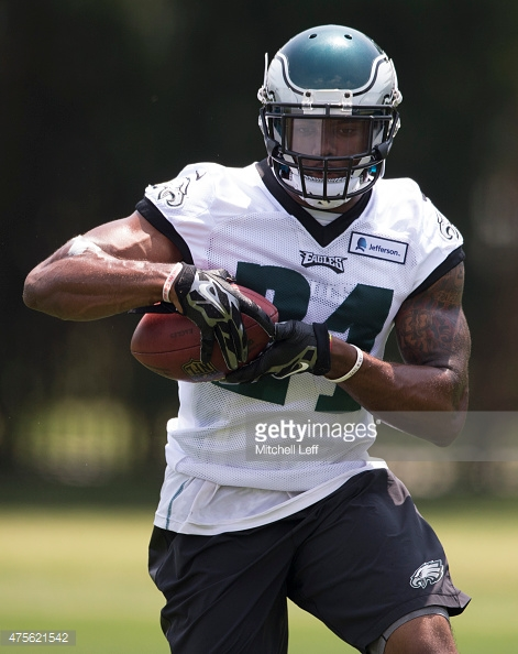 Jerome Couplin III at Philadelphia's offseason mini camp (via Getty Images)
