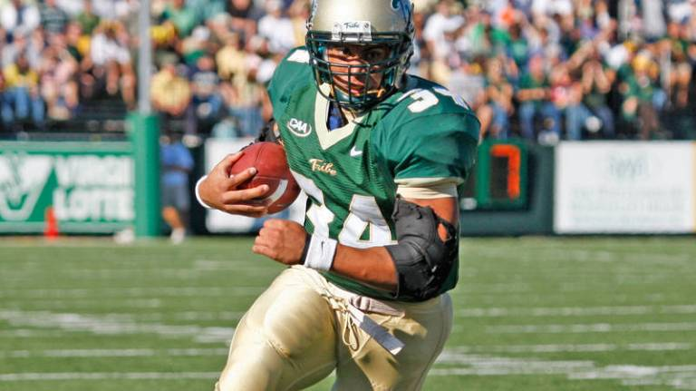 Jonathan Grimes will always be remembered as a William & Mary all-time great [via tribeathletics.com]