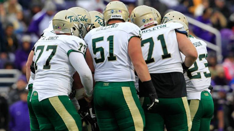 William & Mary's Offensive Line has the potential to be the best unit in the CAA this year [via Tribe Athletics]