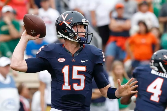 UVA QB Matt Johns will look to build off of his strong performance a week ago vs. Notre Dame [Geoff Burke-USA TODAY Sports]
