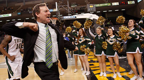 Are you as pumped as Head Coach Tony Shaver for this season? [photo: wm.edu]