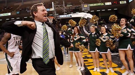 Are you as pumped as Head Coach Tony Shaver for this season? [photo: wm.edu]