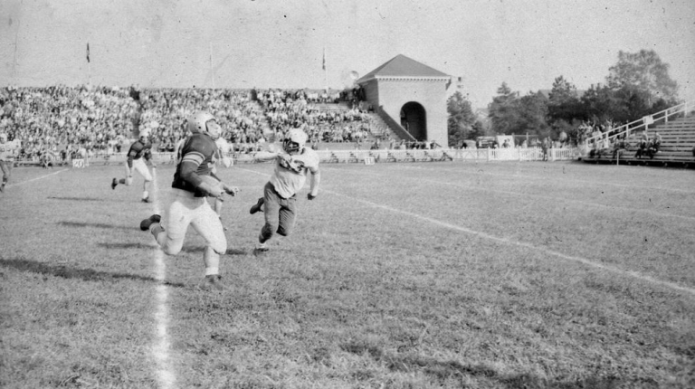 Zable Stadium: 1948 Homecoming [via Daily Press archives]