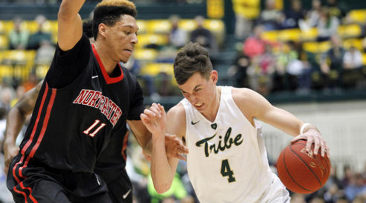 Junior Omar Prewitt has quietly put together a career season, and leads the Tribe in scoring at 18 ppg (photo: Jonathon Gruenke, Daily Press)