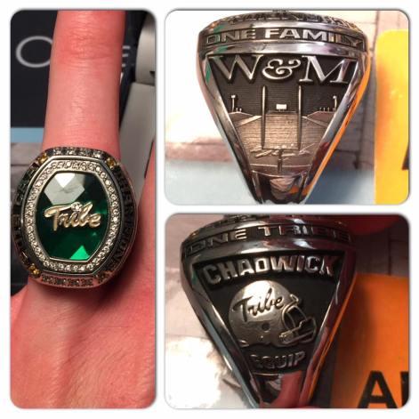 CAA champ ring
