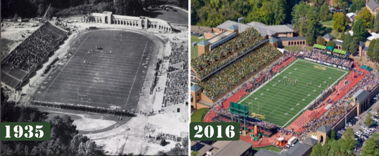 Zable Stadium's final renovation will bring new energy to a stadium nearing its 100th birthday. [photos: tribeathletics.com]