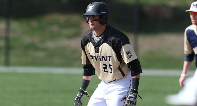 Robby Rinn leads the potent Bryant Offense with a .378 batting average (via bryantbulldogs.com)