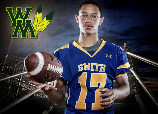 Meet the Tribe's top FCS Recruit in the Nation, QB Shon Mitchell, out of Oscar Smith High School in Virginia. (photo via Maxpreps.com)