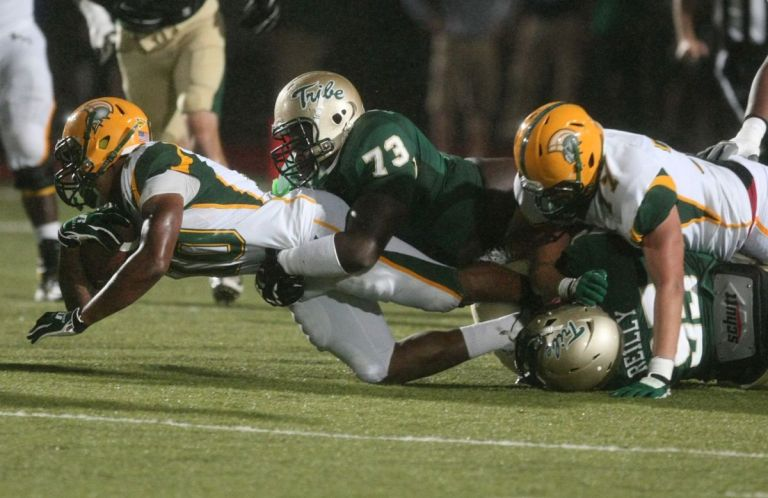Norfolk State came up short against William & Mary in 2014. [photo: Jason Hirschfield, Virginia Pilot]