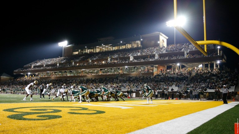 Even though the game was awful, Zable Stadium still looked awesome. [photo: tribeathletics.com]