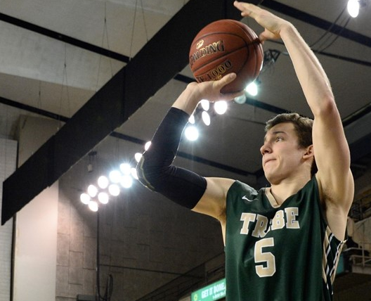 Junior Greg Malinowski looks to take over a starting role in his 3rd season with the Tribe. [photo: tribeathletics.com]