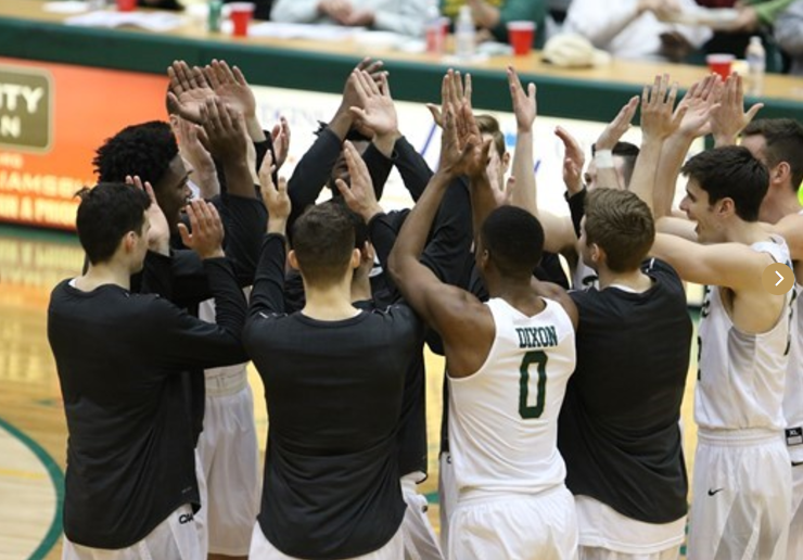 With out of conference play winding down, the Tribe is gearing up for CAA play. [photo via Bob Keroack of tribeathletics.com]