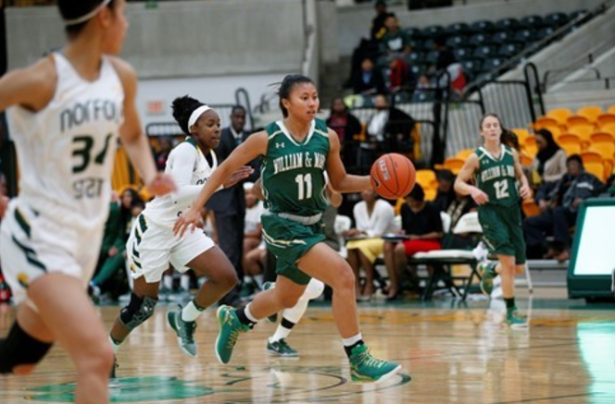 Alexandra Masaquel is a big reason William & Mary's defense is #1 in the CAA. [photo via tribeathletics.com]