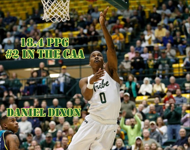 The Tribe's leading scorer this year currently ranks 2 in the CAA in scoring. [photo via tribeathletics.com]