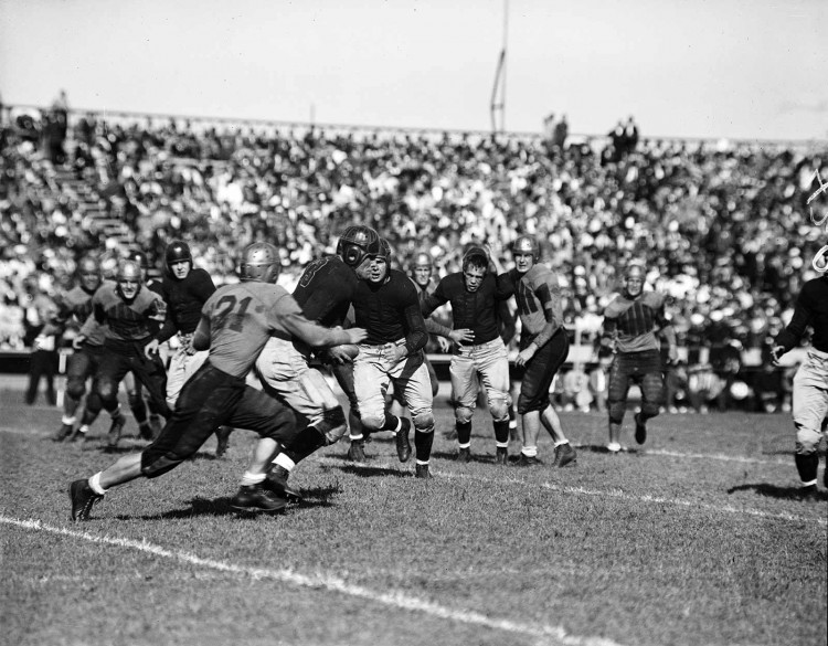 WM vs Navy 1936