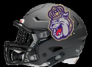 JMU football helmet final