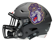 JMU football helmet final